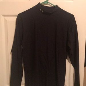 Under Armour Black Crew Neck XL